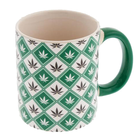 Multi Leaf Coffee Mug - The JuicyJoint