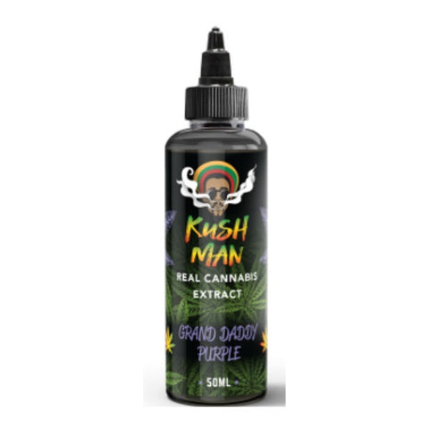 Kush Man E-Liquid  - Real Cannabis Extract with Terpenes 50ml Short Fill 0mg