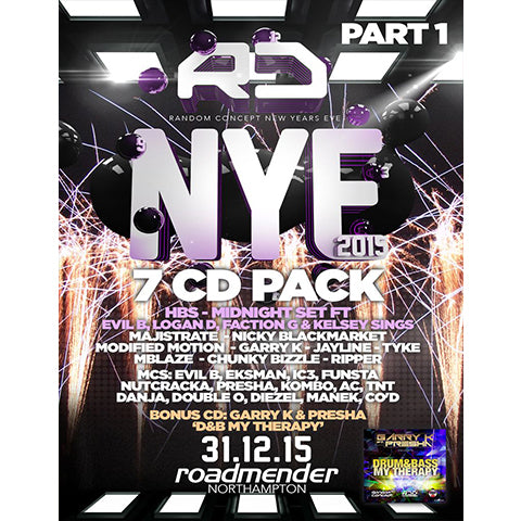 Random Concept - NYE 2015 Cd Pack Part 1 - The JuicyJoint