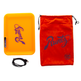 Runtz (Orange) LED Glow Tray X - USB Rolling Tray