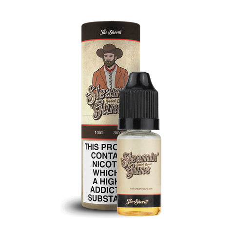 Steamin Guns - 10ml E-Liquid PRICE REDUCED!!