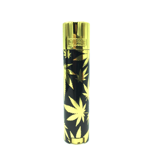 Clipper - Metal Gold Leaves With Case
