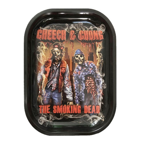 The Smoking Dead - Metal Rolling Tray by V Syndicate