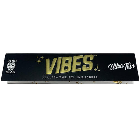 Vibes - King Size Slim - Ultra Thin Papers