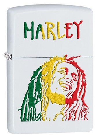 Zippo Bob Marley Red Gold and Green