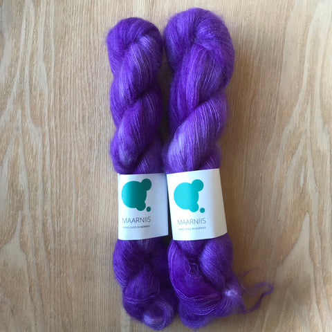Perfect Purple // Silk mohair // 50 g