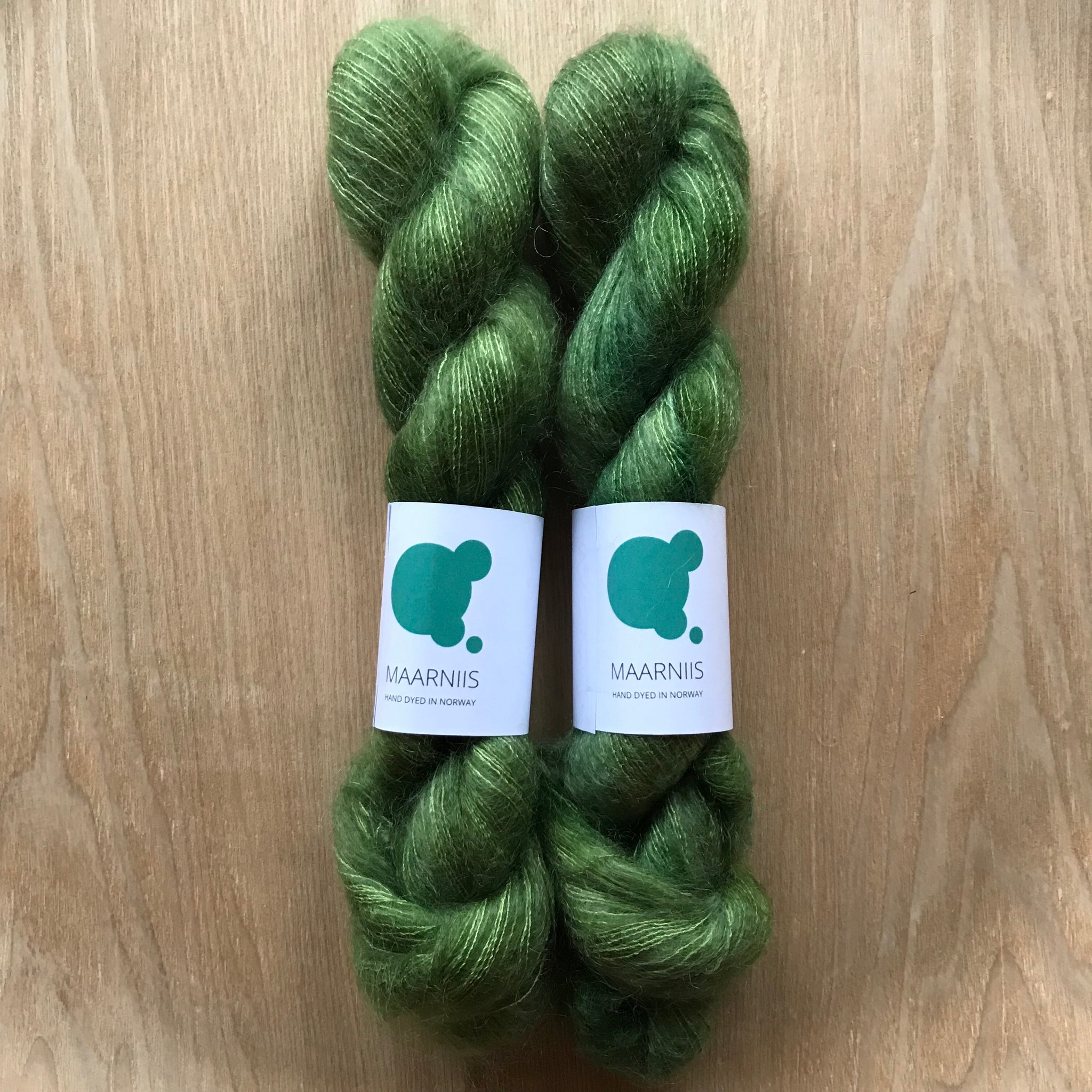 Winter Green // Silk mohair // 50 g
