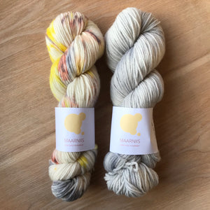 Autumn & Soft Grey // Pure Big Bella // 100g