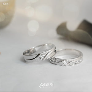 Gold Wedding Ring Z-02