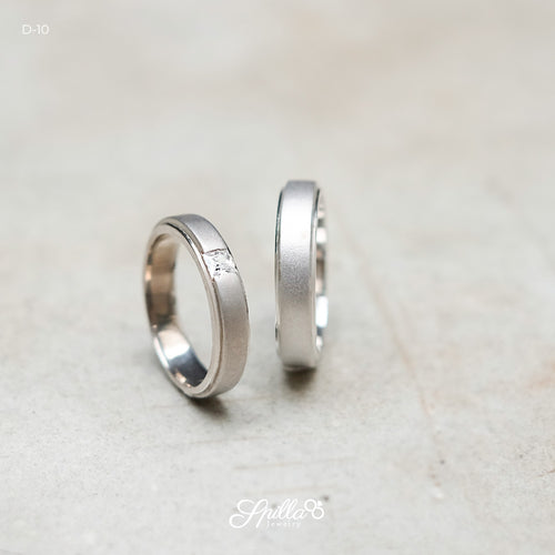 Platinum Wedding Ring D-10