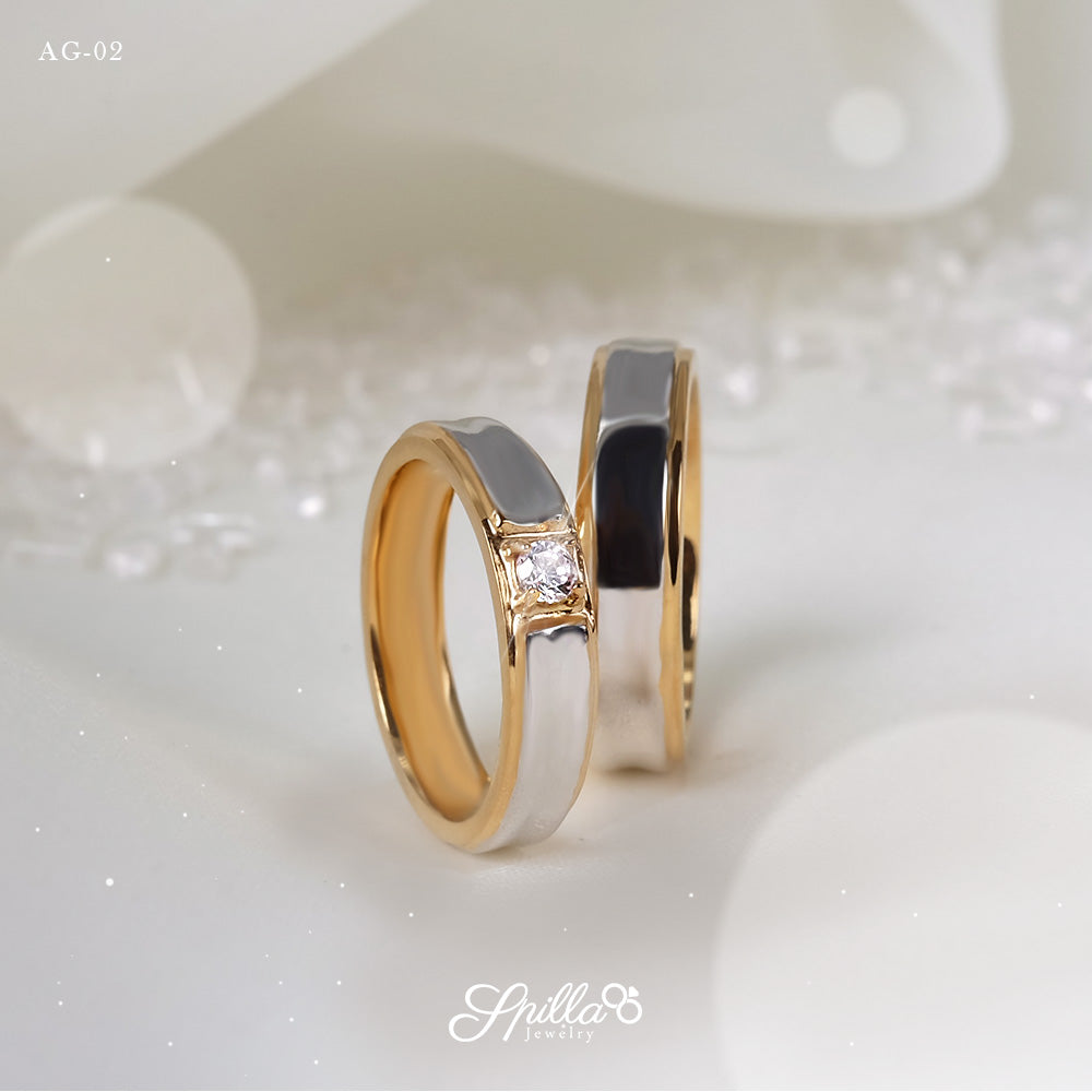 Couple Ring AG-02 [Silver]