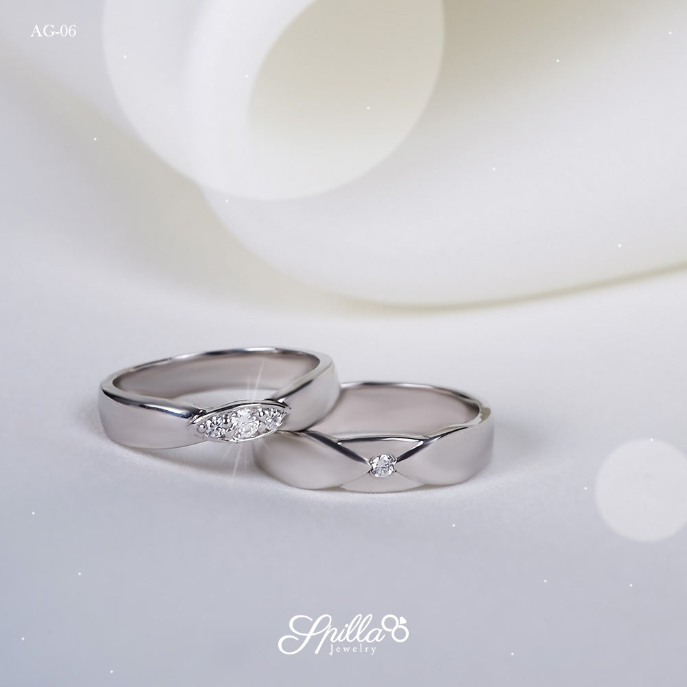 Couple Ring AG-06 [Silver]