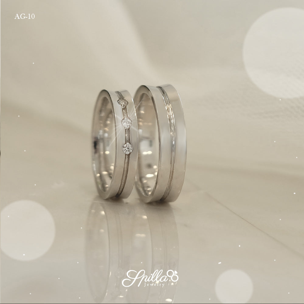 Couple Ring AG-10 [Silver]