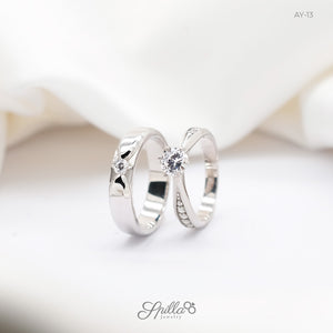Silver Engagement Ring AY-13