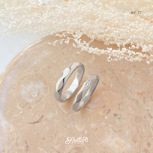 Gold Wedding Ring AY-17