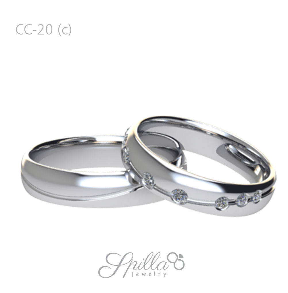 Wedding Ring CC-20 (C)