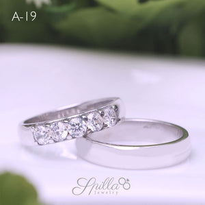 Couple Ring A-19 Silver