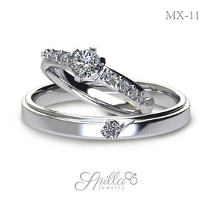 Wedding Ring MX-11 Silver