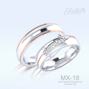 Wedding Ring MX-18 Silver