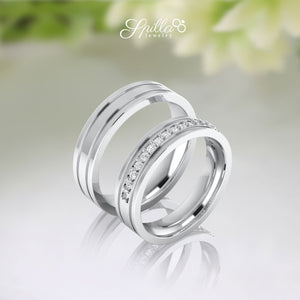 Couple Ring Silver MX-22