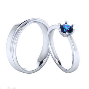 Couple Ring SIlver MX-24