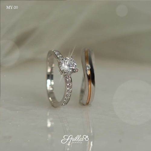 Couple Ring MY-20 [Silver]