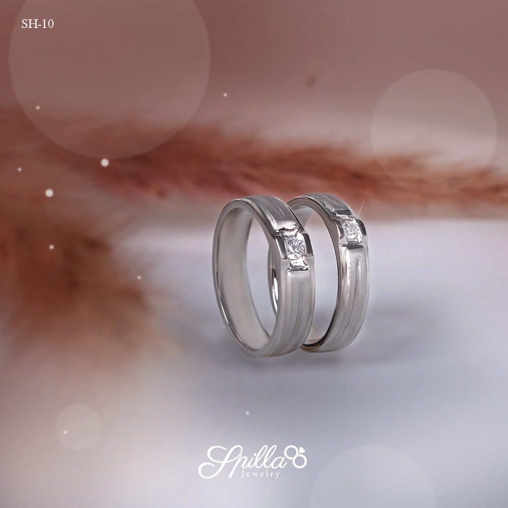 Couple Ring SH-10 [Silver]