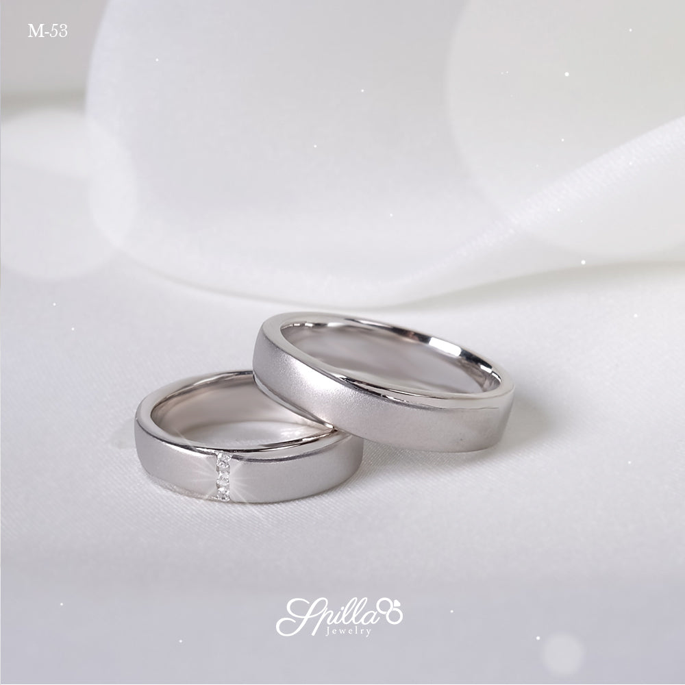 Platinum Wedding Ring M-53