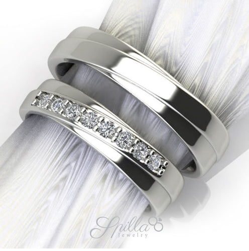 Couple Ring CC-27 Silver