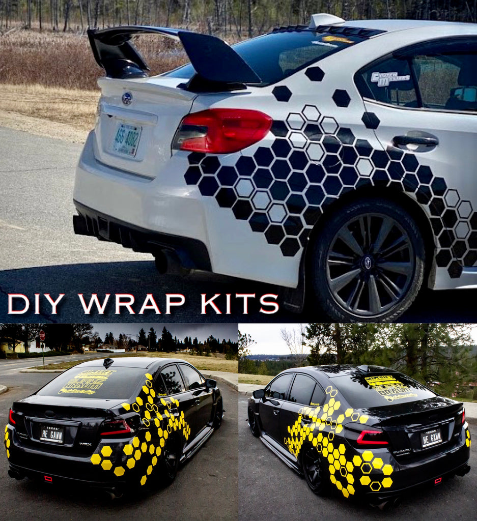 Hex Styling - DIY WRAP KIT