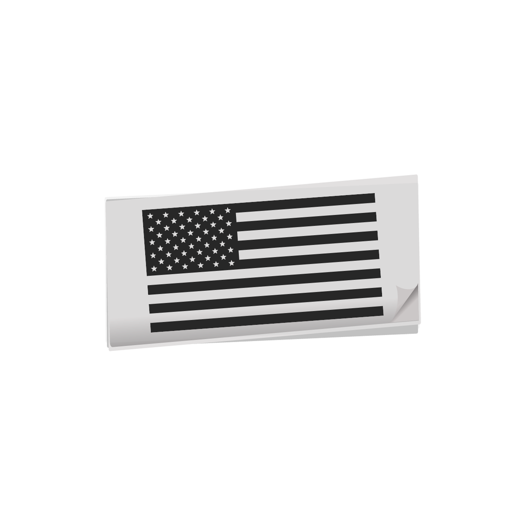American Flag Decals (Normal & Reversed)