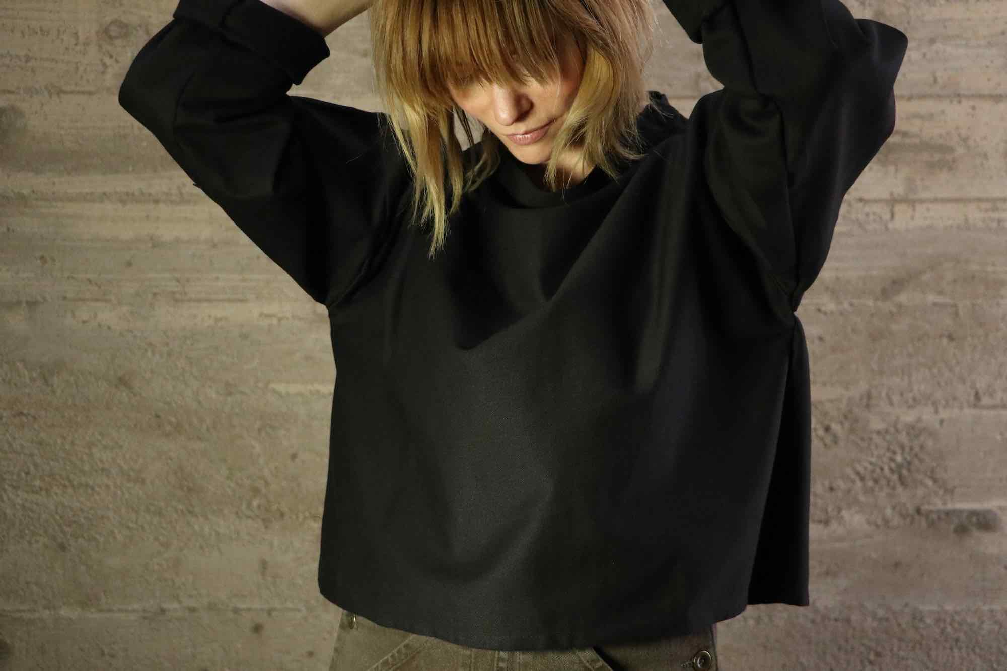 Cropped Smock