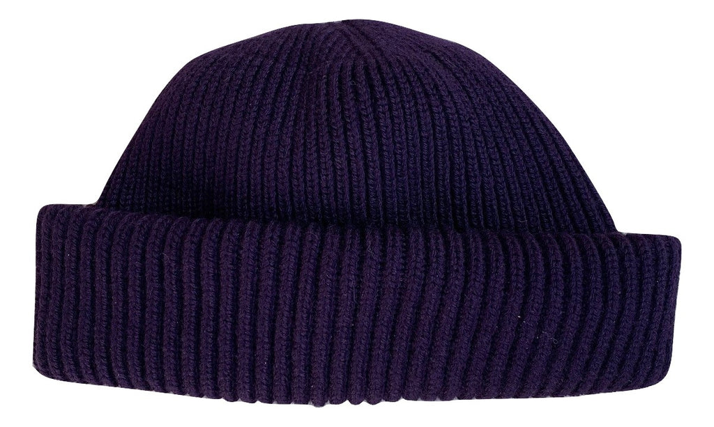 Purple Wool Hat
