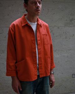 Men's Orange Work Jacket