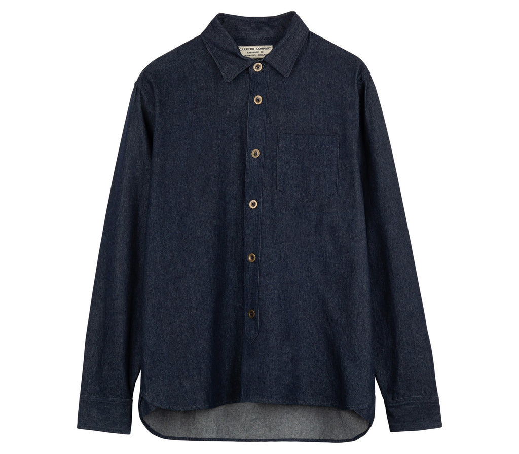 Denim Collar Shirt