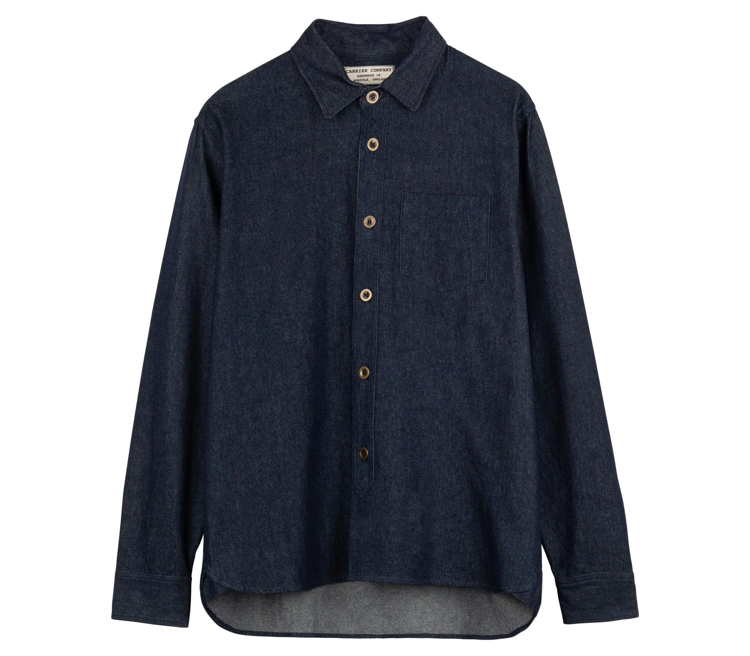 Women's Denim Collar Shirt