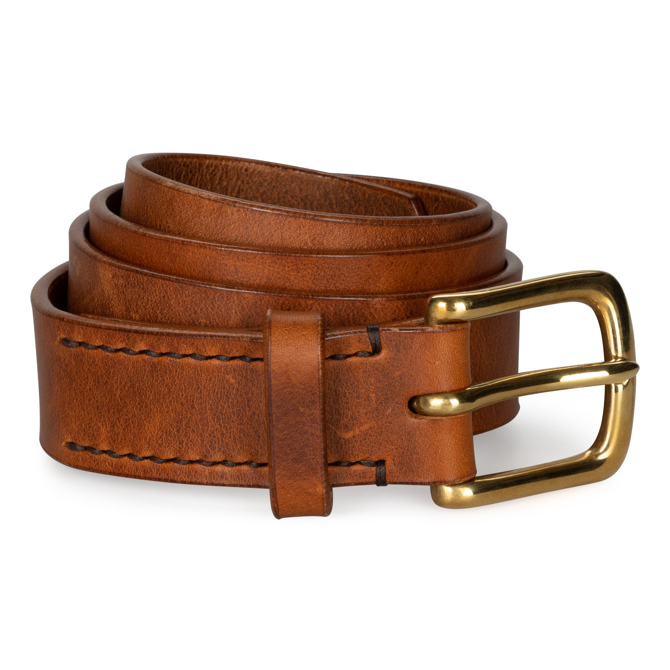 Chestnut Leather Belt