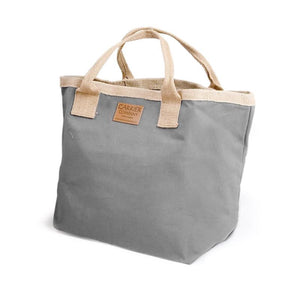 Great quality general purpose bag made from thick canvas with jute handles