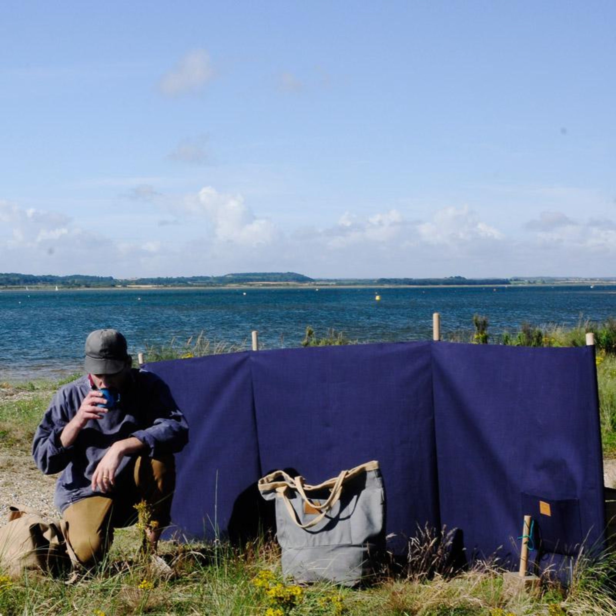 Canvas Windbreak