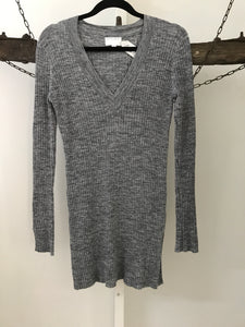 Witchery grey slim line knit Size S (estimated 8)