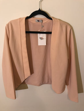 Temt pink jacket Size 12 NWT