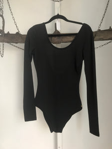Ricki-lee Black Leotard Size S (10)