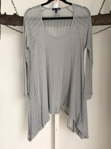 Ladakh Grey Top Small (8-10)
