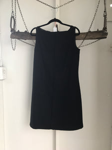 Begum Black Felt Dress Size 10
