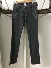 Sass N Bide Grey Lightening Strikes  Straight Size 27