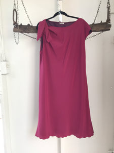 Clara Pink Evening Dress Size 16