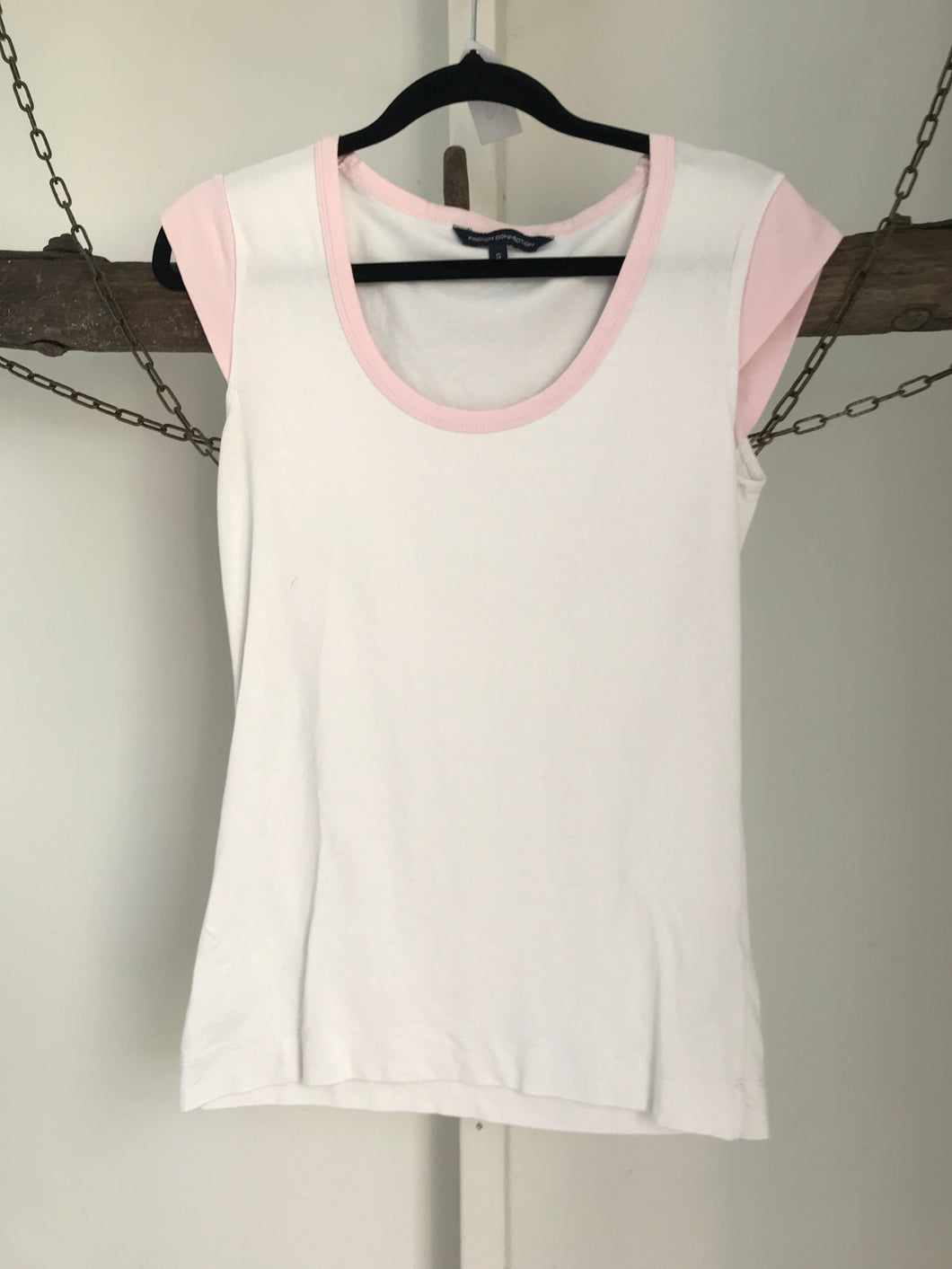 French Connection White/Pink Size S (6)