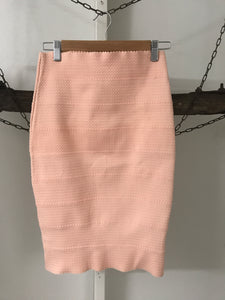 Chic A Booti Pink Stretchy Skirt Size 8