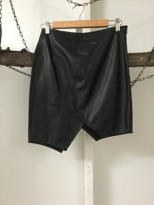 Luvalot Leather Skirt Size 10
