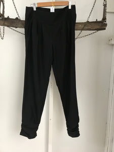 Tokito Black Straight Pants Size 8